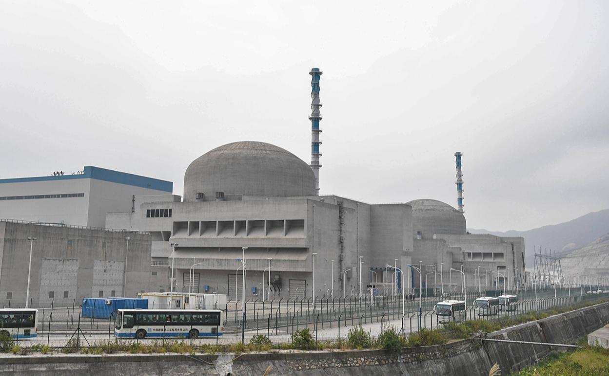 Вид на АЭС «Тайшань»