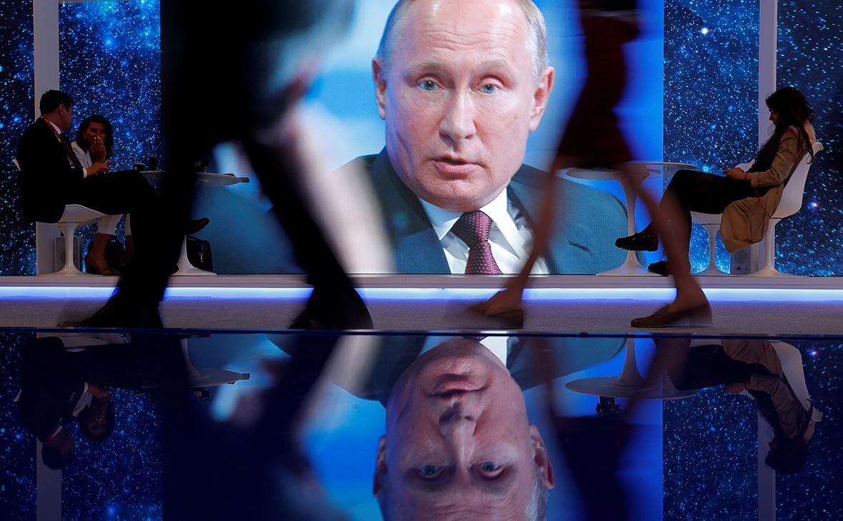 Изображение Владимира Путина