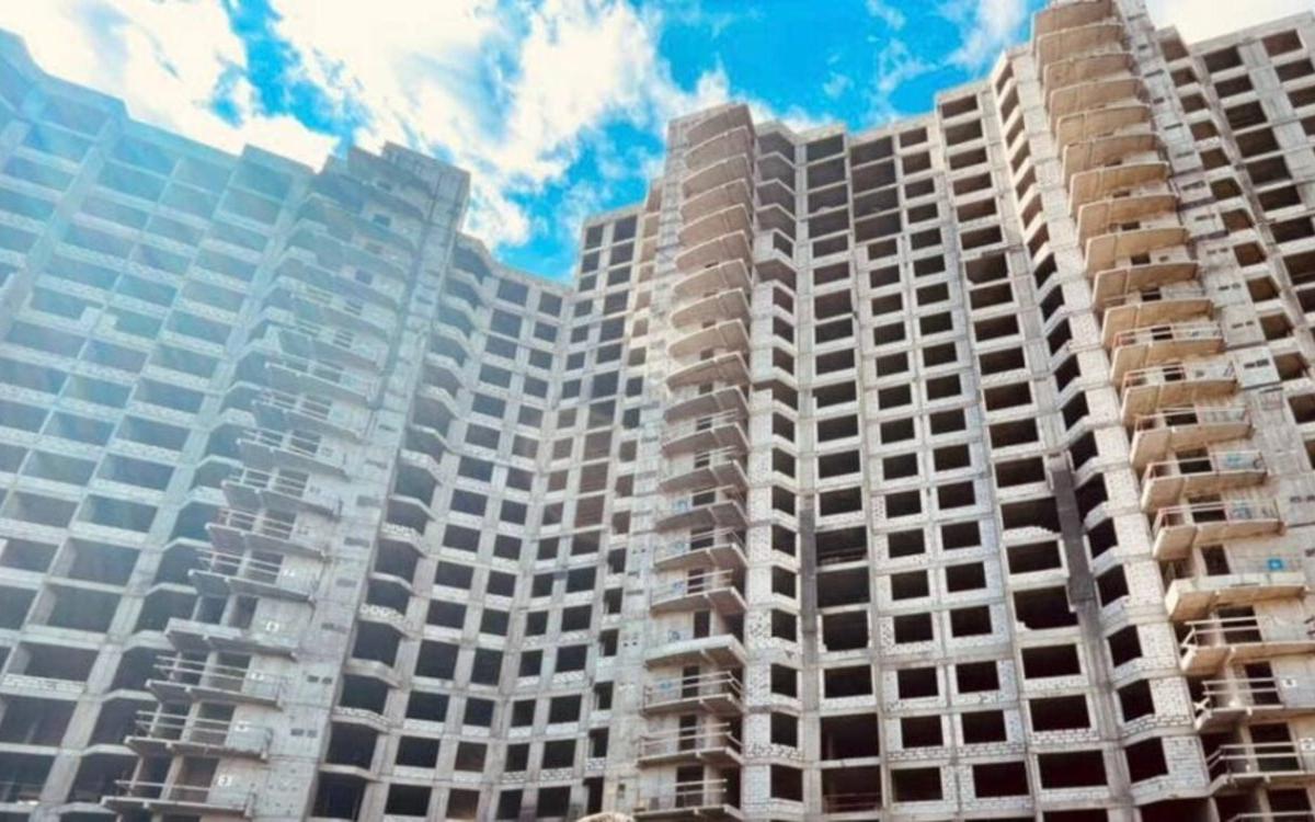 Недостроенный жилой комплекс «Квартал Триумфальный»