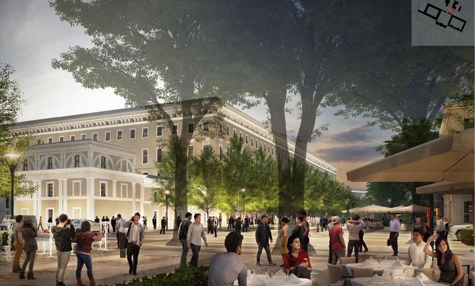 Все пространство станет проницаемым, напервых этажах откроются кафе имагазины, спрогнозировали вМоскомархитектуре