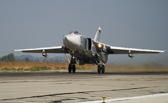 Минобороны Германии убедилось в перехвате Су-24 над территорией Сирии