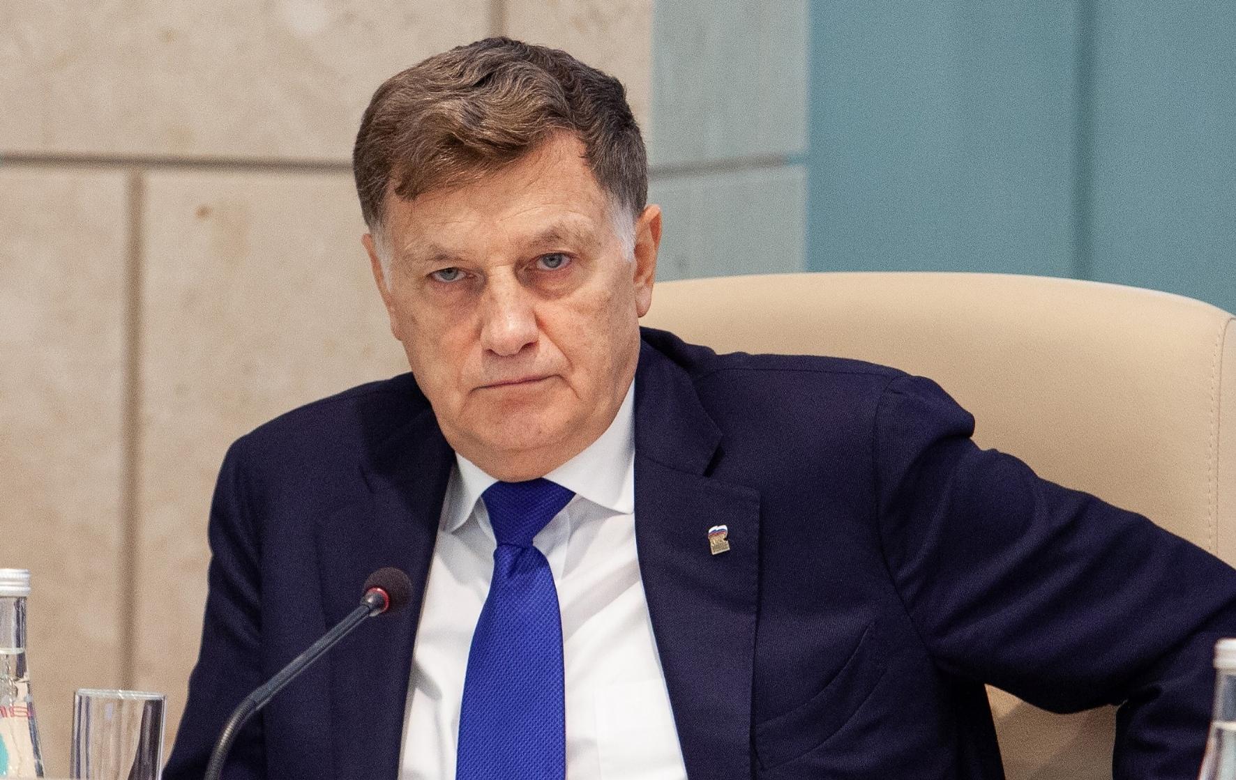 Председатель петербургского законодательного собрания Вячеслав Макаров