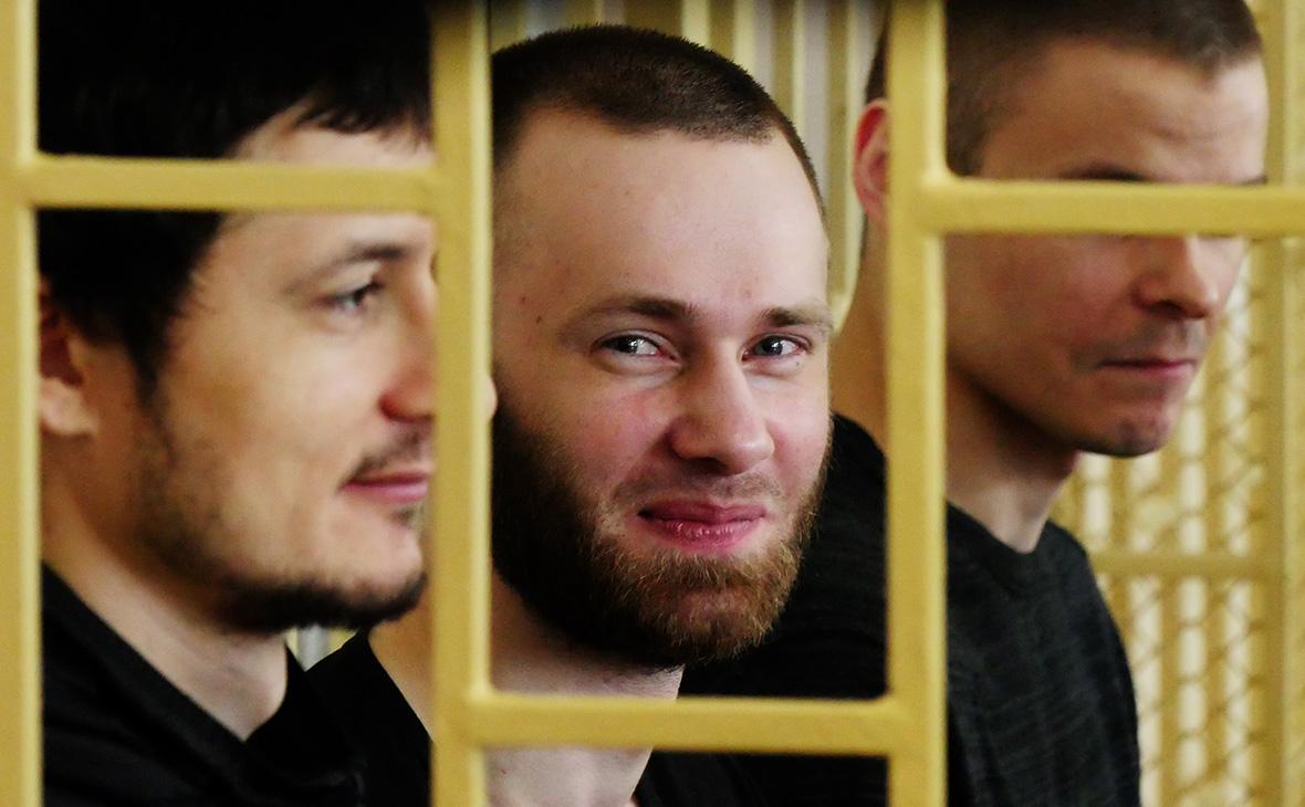Владимир Илютиков, Александр Ковтун и Максим Кириллов (слева направо)