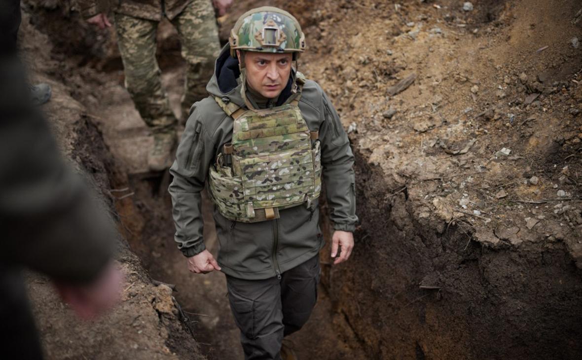 Зеленский приехал в Донбасс и сообщил об обострении ситуации