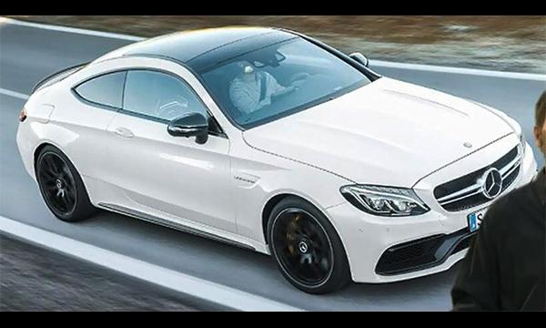 Дизайн купе Mercedes AMG C63 S рассекретили до премьеры :: Autonews
