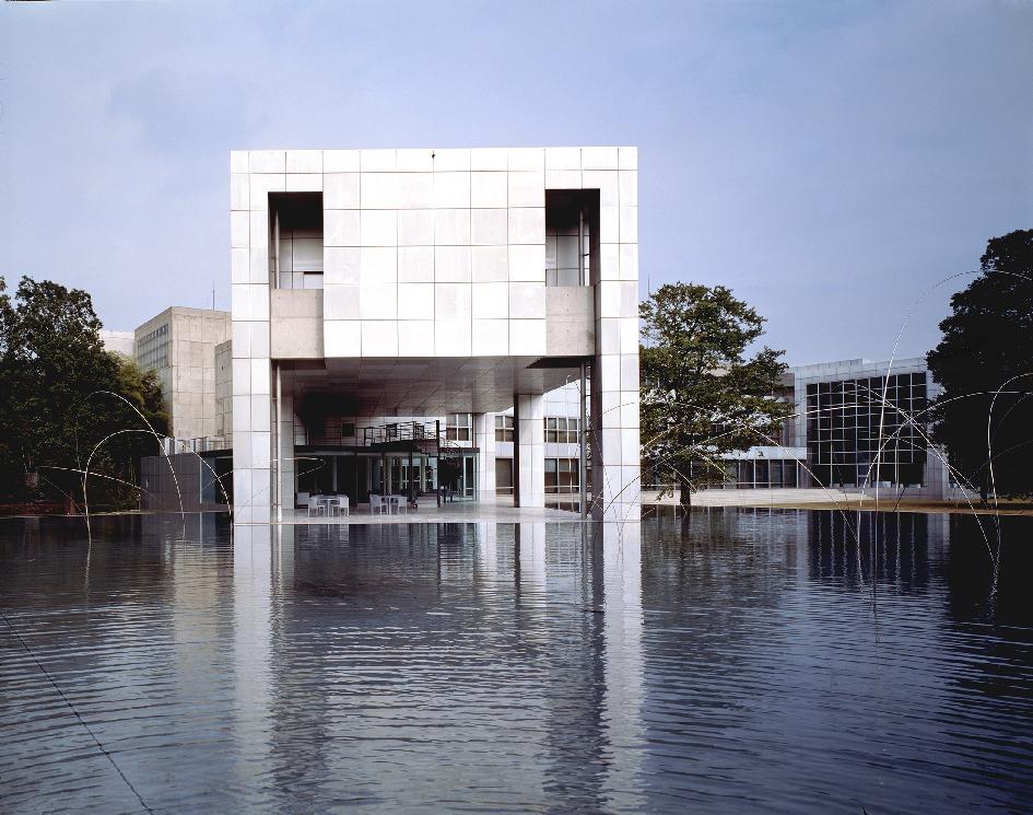 Музей современного искусства Gunma в Такасаки (1974)