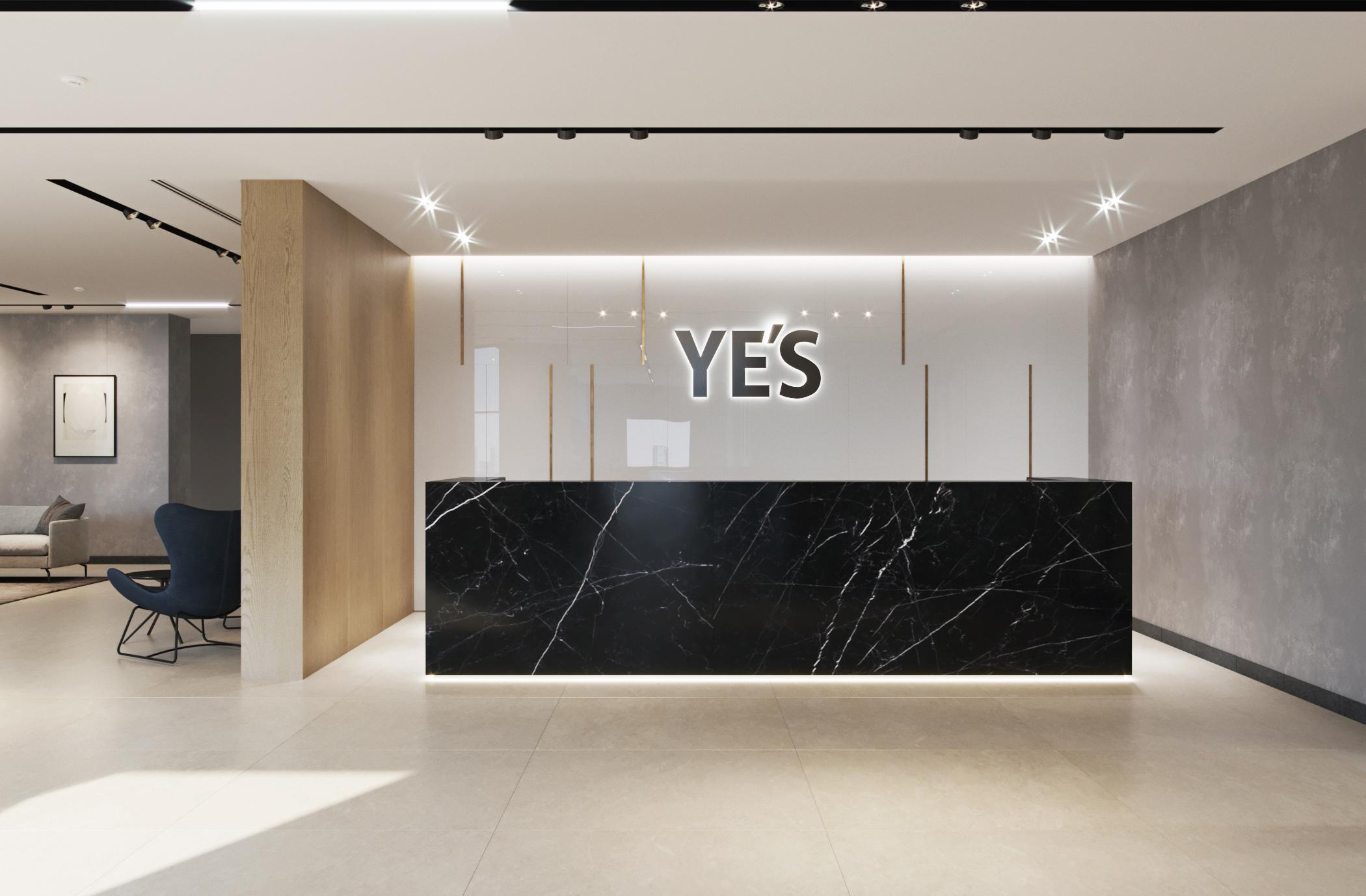 Лобби в апарт-отеле YE'S Technopark