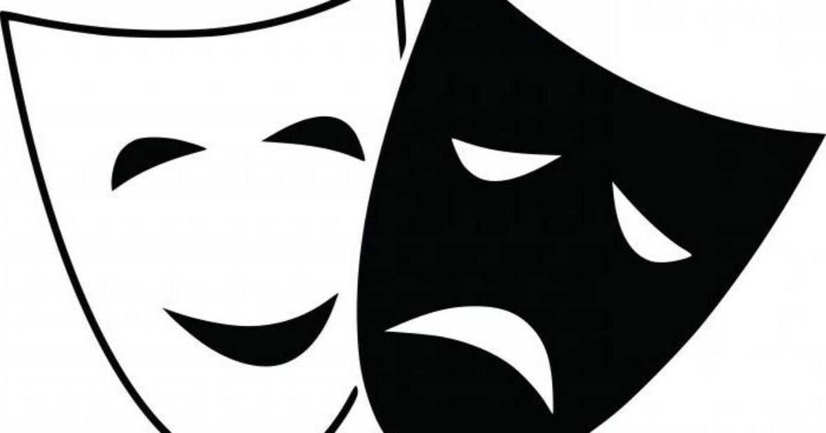 Картинки театральные маски, для поздравительной