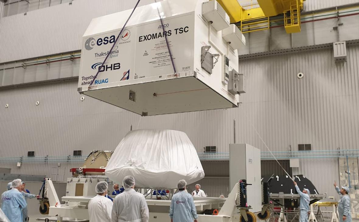 Посадочная платформа миссии «ЭкзоМарс-2020»