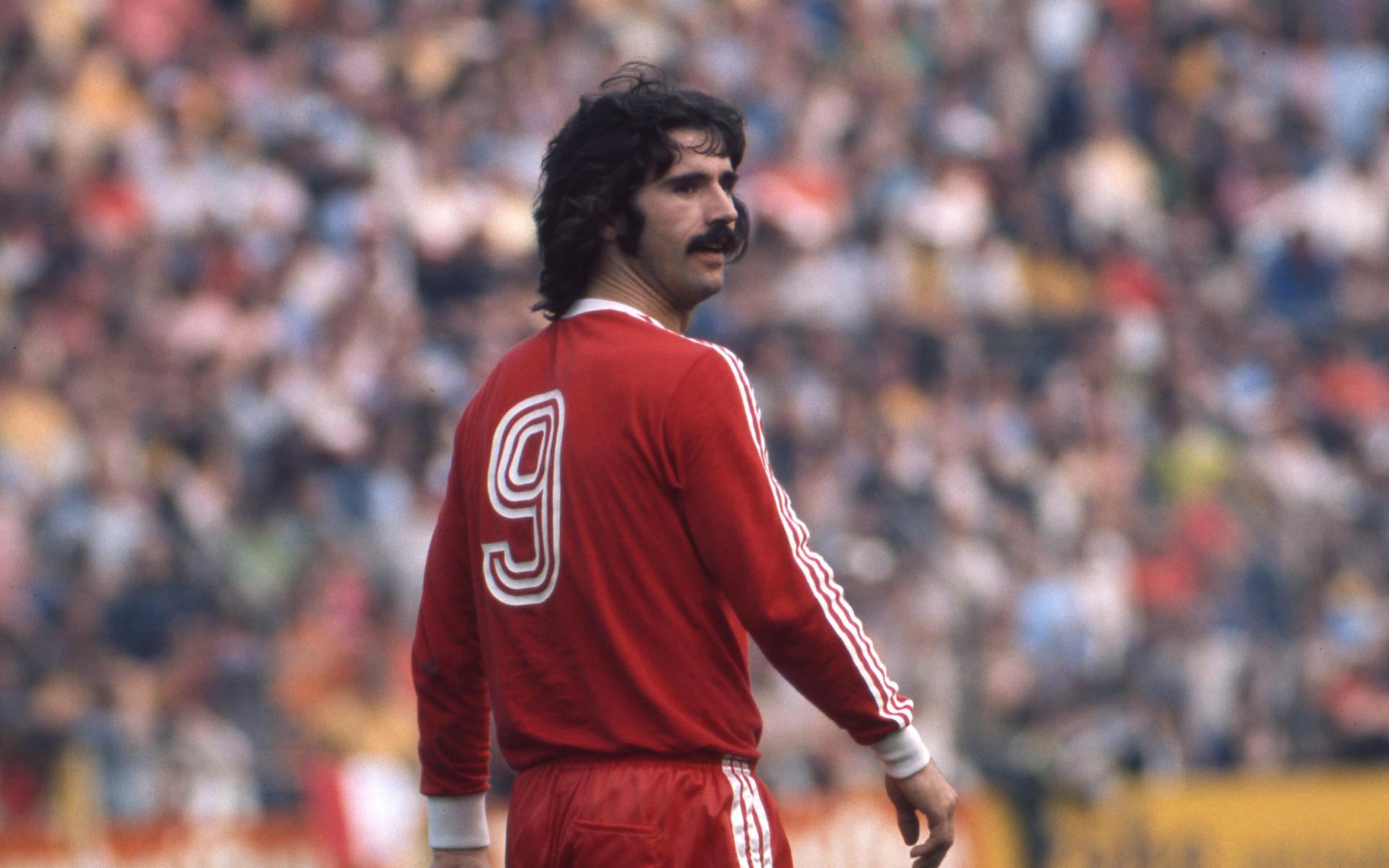 Фото: Герд Мюллер в 1975 году (Getty Images)