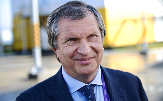 Глава компании «Роснефть» Игорь Сечин