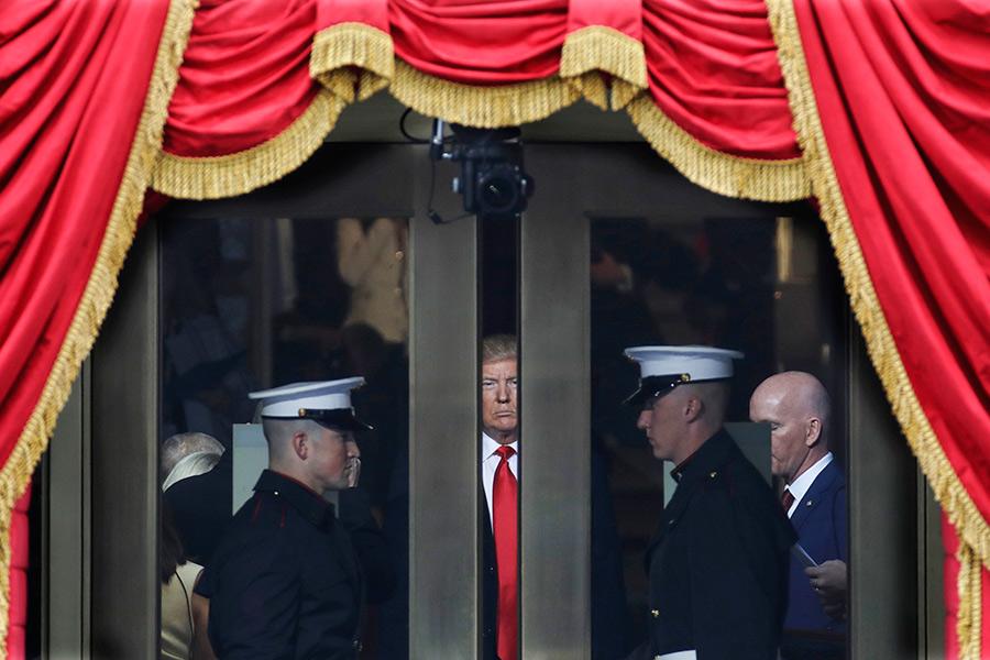 День1-й. Инаугурация Дональда Трампа