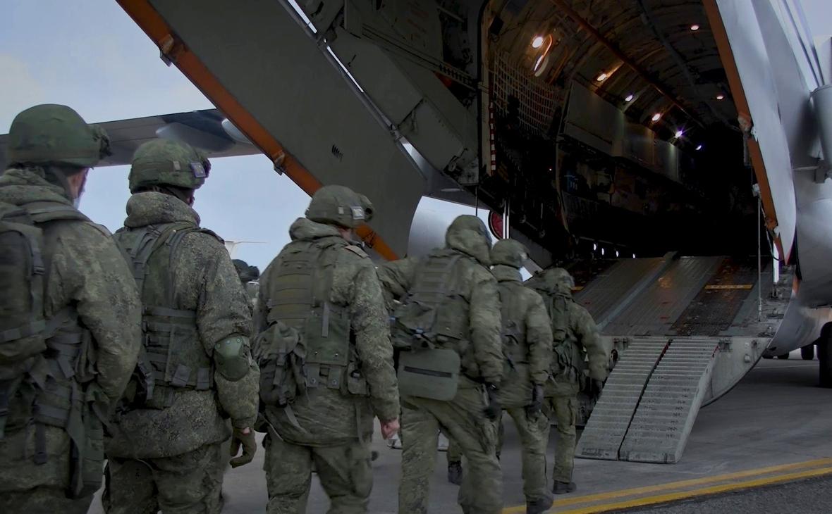 МИД заявил об исключительно российских миротворцах в Нагорном Карабахе