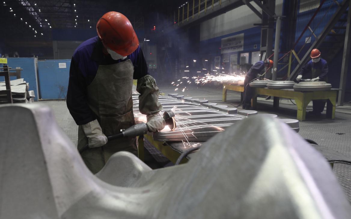 Производство титановых сплавов на предприятии «ВСМПО-Ависма»в Свердловской области