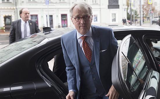 Посол ФРГ в России Рюдигер фон Фрич