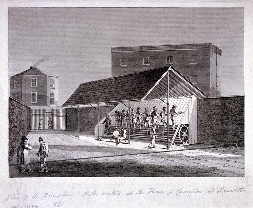 Исправительные работы в Брикстоне, 1821 год