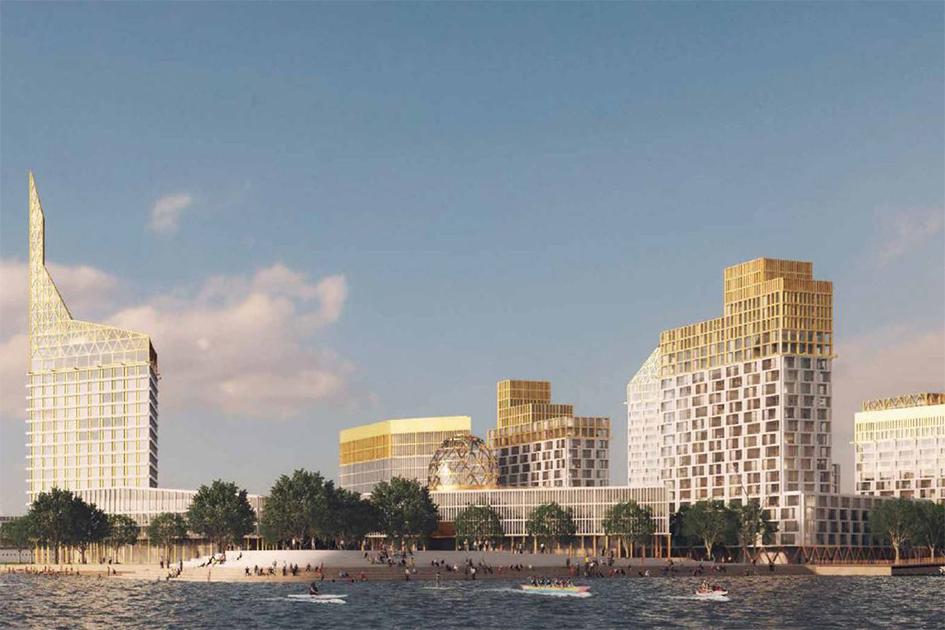 Особая отметка жюри вноминации «Лучший жилой проект вСанкт-Петербурге»: жилой комплекс Golden City  Девелопер: Glorax Development