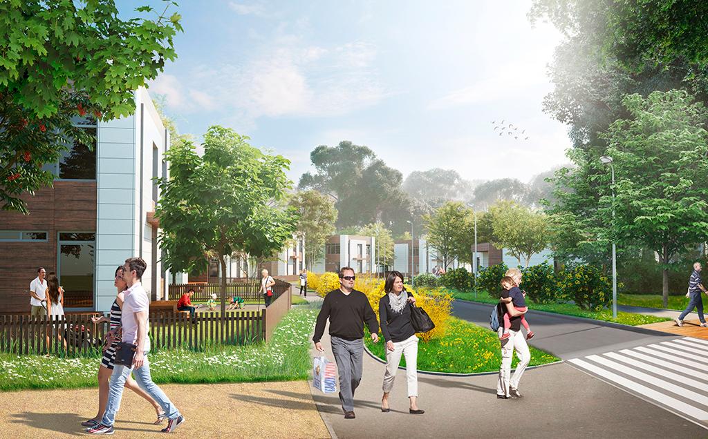 Проект развития городского пространства в бухте Новик на острове Русский