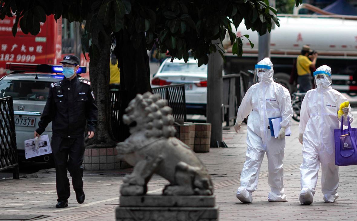 В китайском Гуанчжоу закрыли район из-за вспышки коронавируса