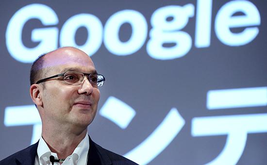 Разработчик мобильной операционной системы Android Энди Рубин