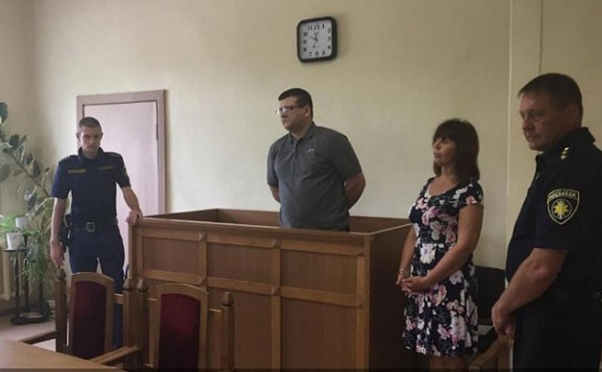 Юрий Стилве во время суда