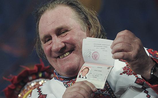 Актер Жерар Депардье