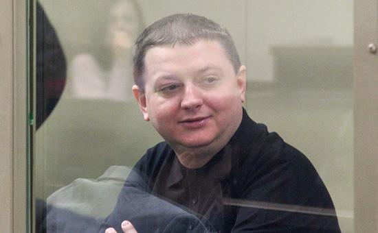 Вячеслав Цеповяз в зале заседаний Краснодарского краевого суда, 2012 год