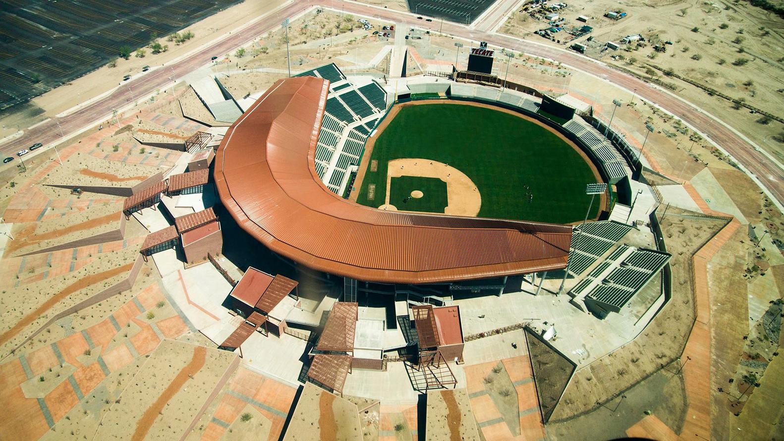 Номинация «Спортивные объекты»  Объект: стадионSonora Stadium  Расположение: Эрмосильо, Мексика  Архитектурное бюро: 3Arquitectura