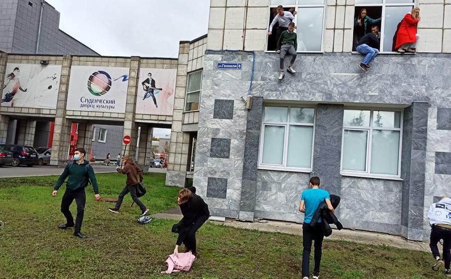 При стрельбе в университете в Перми погибли восемь человек