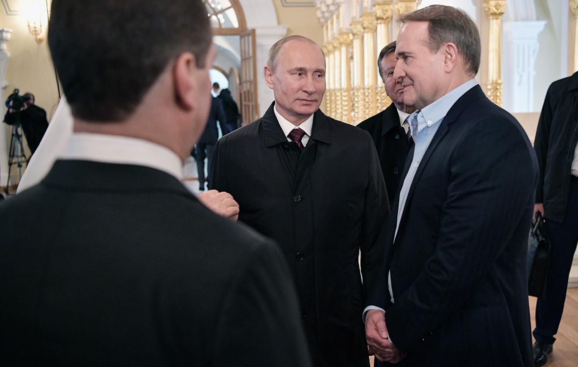 Владимир Путин и ВикторМедведчук