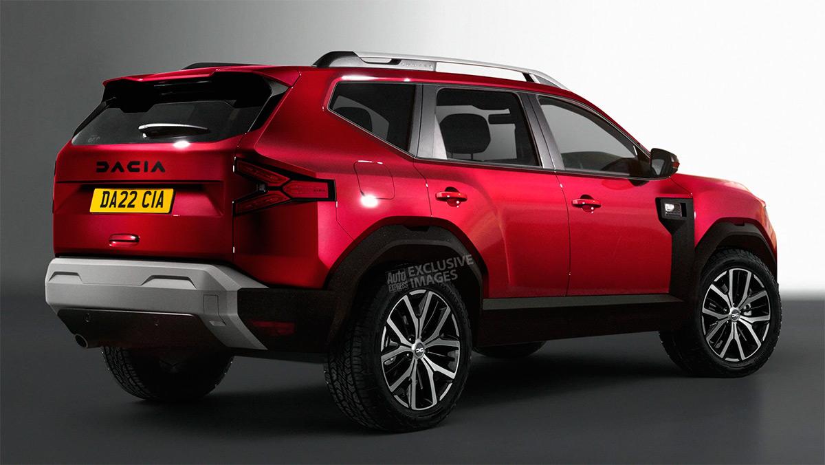Предполагаемый внешний вид Dacia Bigster