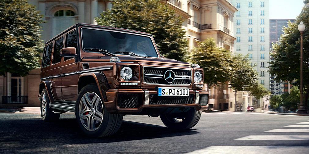 Mercedes-Benz G500 4x4  Самый дорогой вариант — Mercedes-Benz G500 4x4. Огромный внедорожник с 4,0-литровым мотором (421 л.с.) обойдется в 19240000 рублей.
