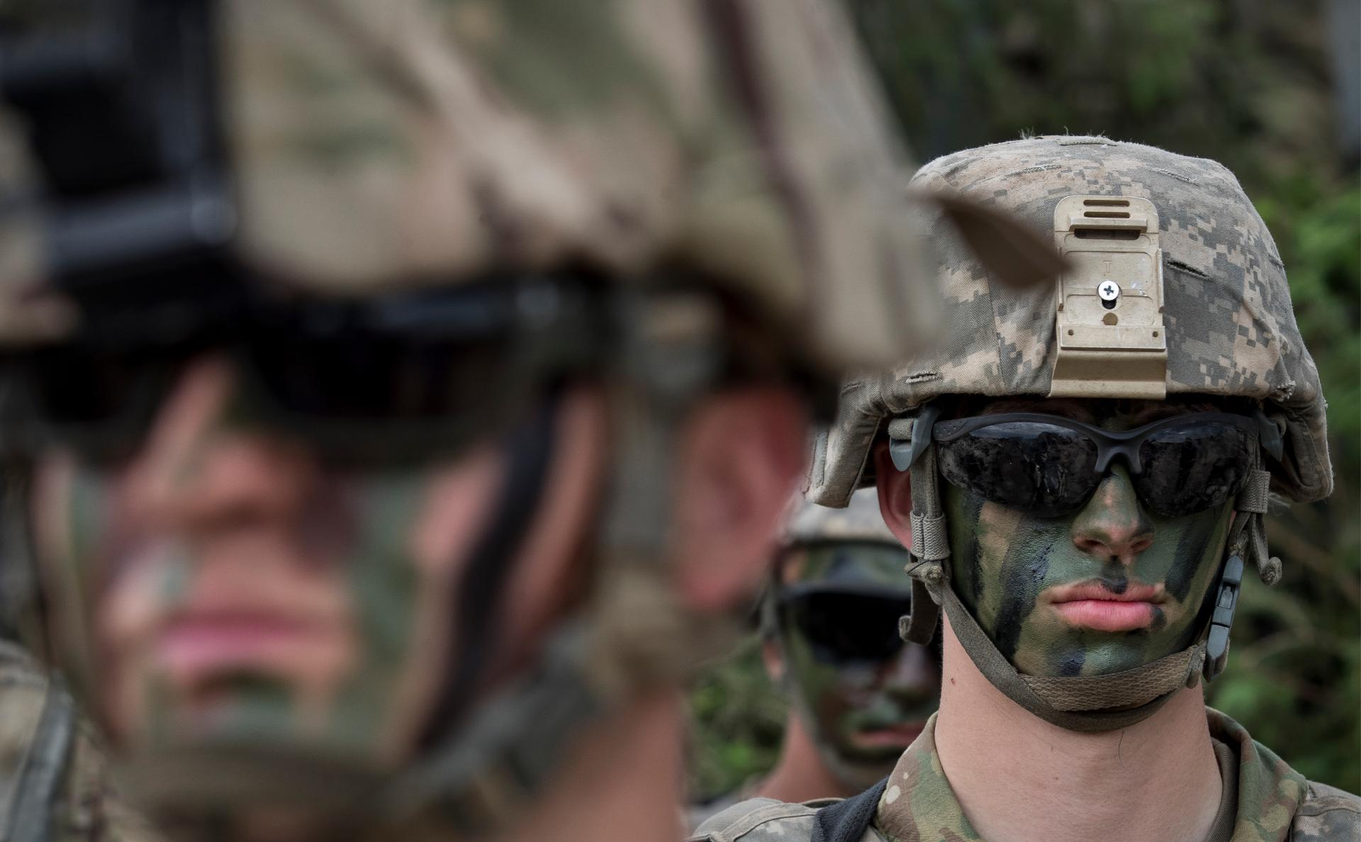 Военные на учениях Saber Strike 2018 в Литве
