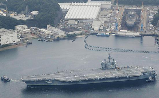 Авианосец USS Ronald Reagan