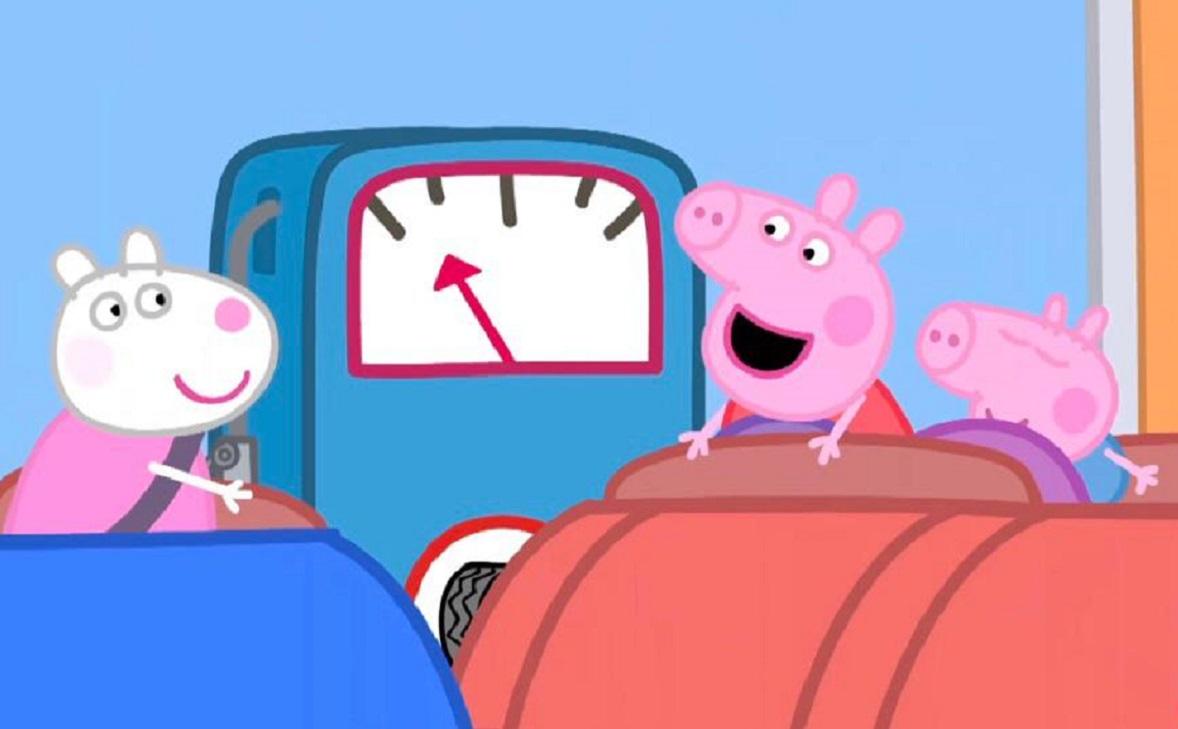 "Фото: Кадр мультфильма с официального Youtube-канала ""Свинка Пеппа"""