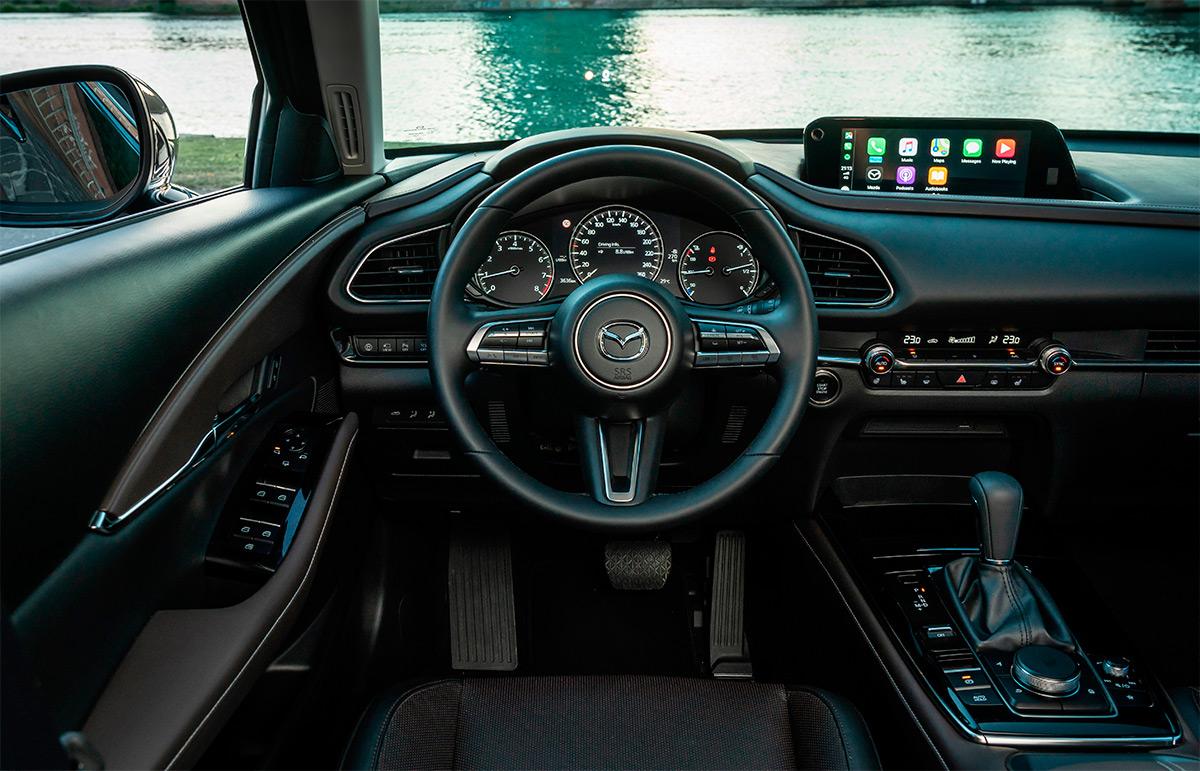 <p>Салон Mazda CX-30</p>