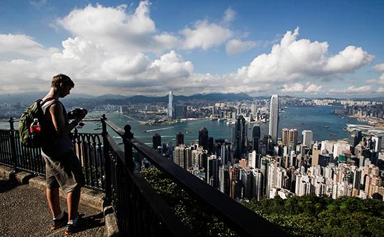 Вид наГонконг