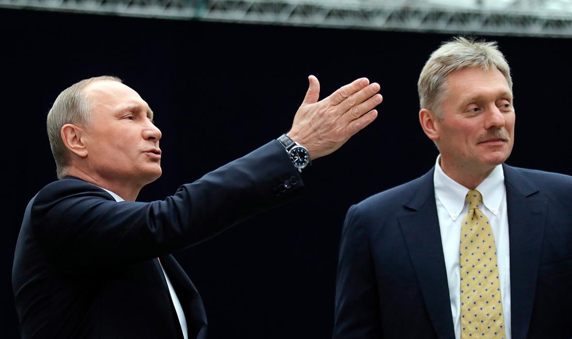 Песков рассказал о внешнеполитических планах Путина на ближайшие 6 ...