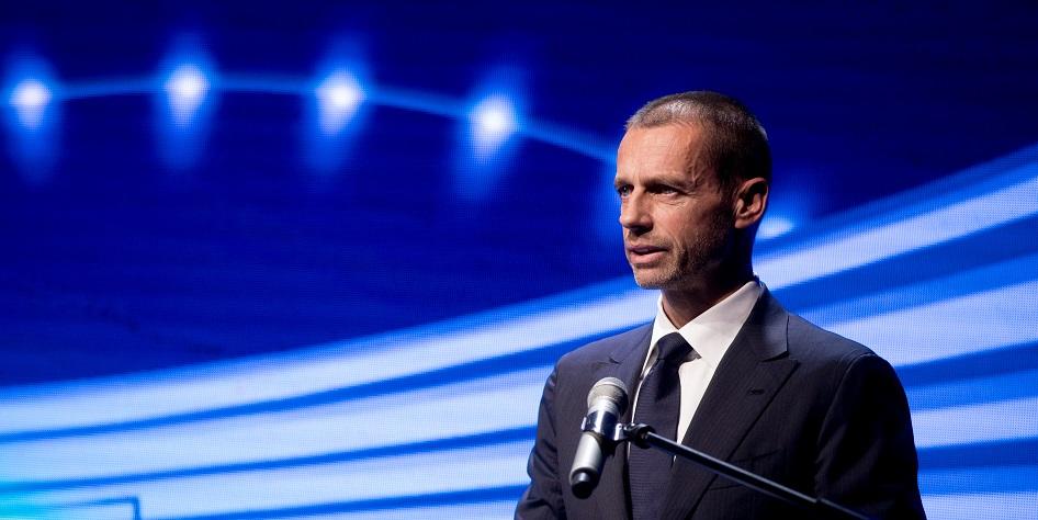 Президент УЕФА Александер Чеферин