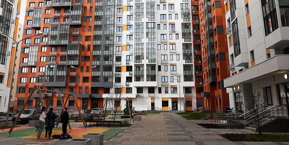 Новый жилой комплекс на Пресненском Валу