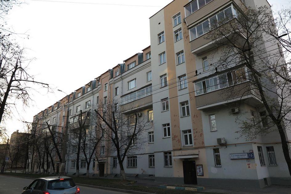 Пример надстроенного дома нестандартной конфигурации