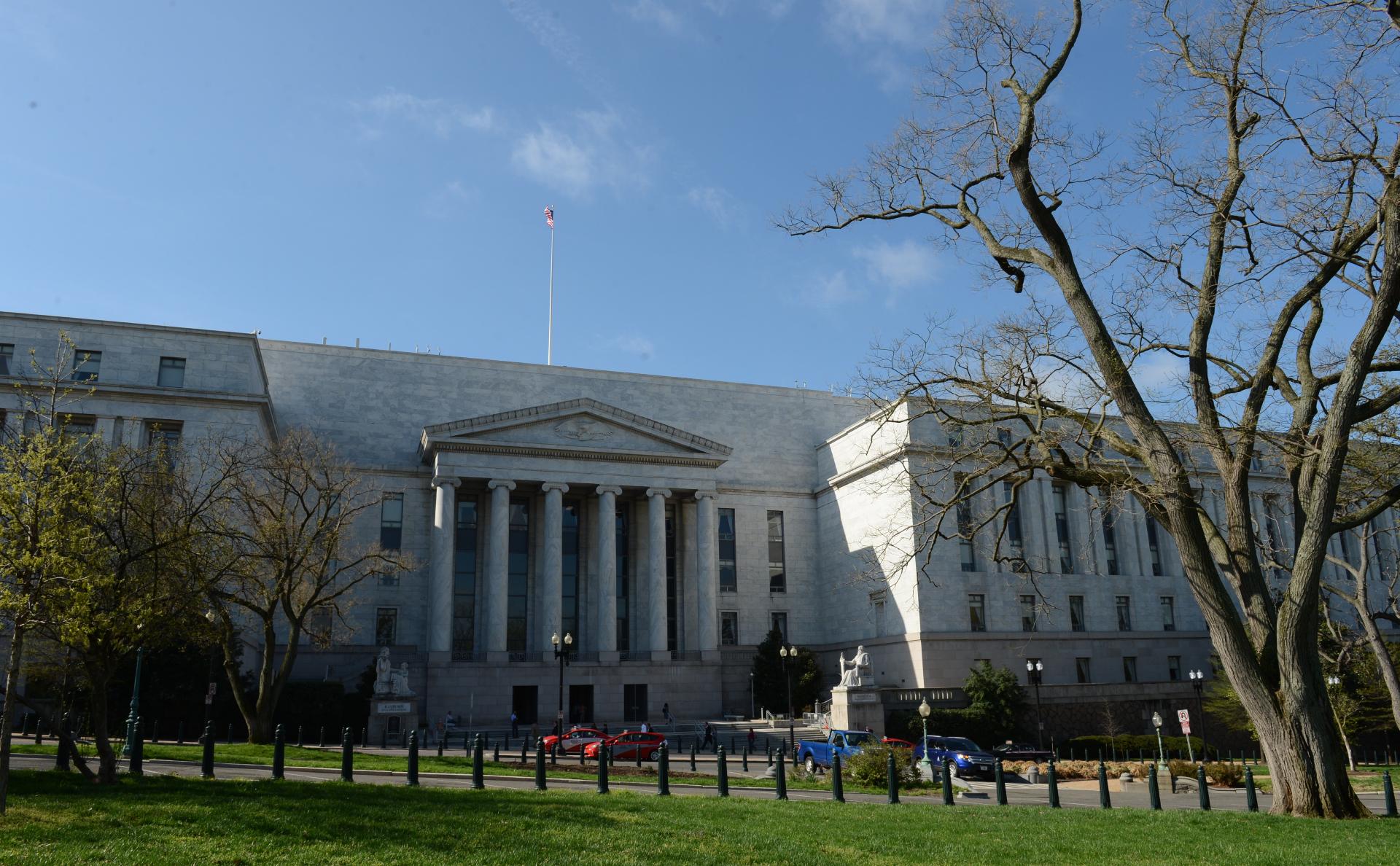 Здание палаты представителей США в Вашингтоне (округ Колумбия)
