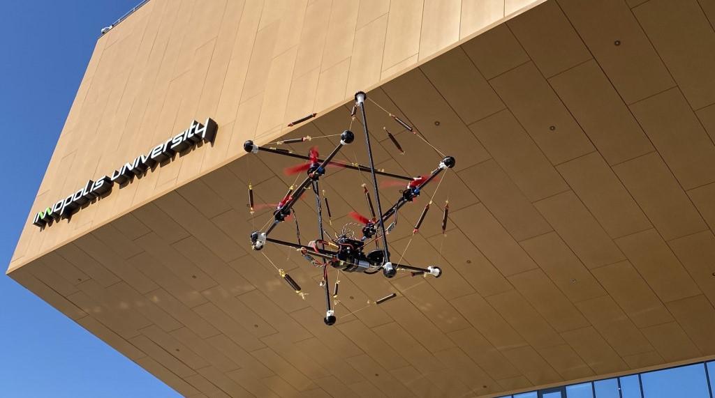 Так выглядит Tensodrone