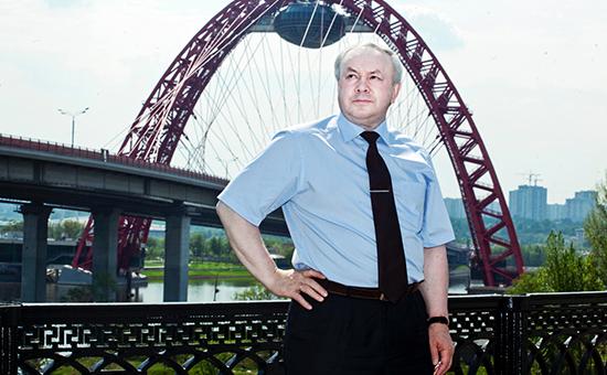 Основной владелец омского НПО «Мостовик» Олег Шишов