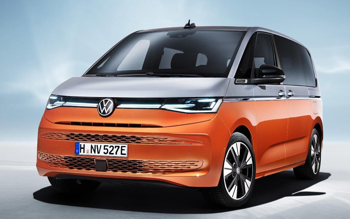 Компания Volkswagen представила Multivan седьмого поколения