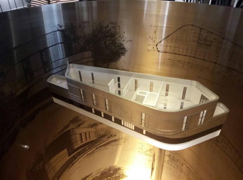 Инсталляция архитектурного бюро А2ОМ