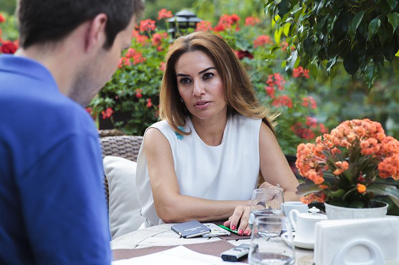 Глава бизнеса доверительного управления группы Газпромбанка Айлин Сантей