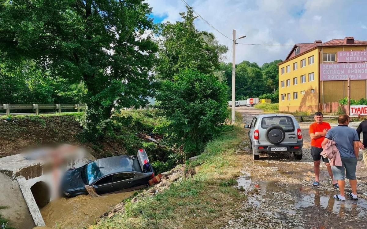 СК возбудил дело из-за гибели людей в Туапсе после подтоплений