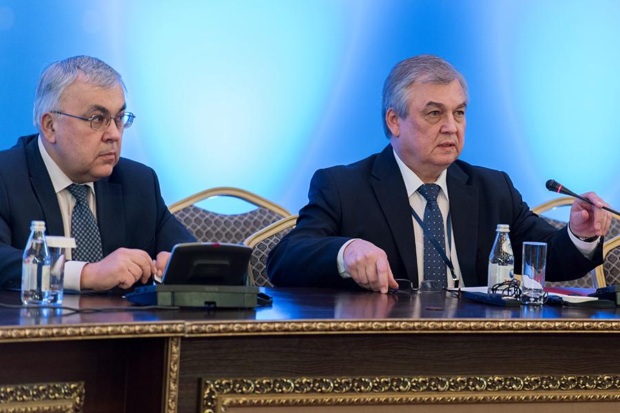 Слева направо: Сергей Вершинин и Александр Лаврентьев
