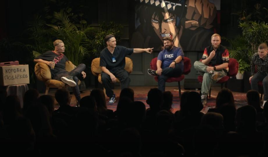 Акцент в шоу делается на общение юмористов со знаменитостями